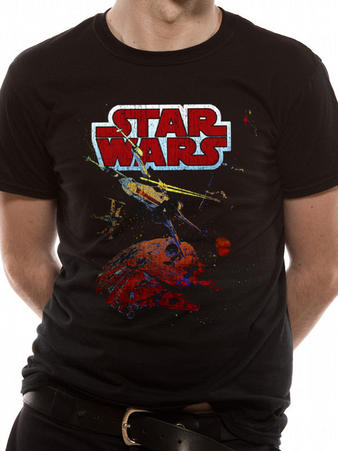 Star Wars (Xwing Gradient) T-shirt Preview