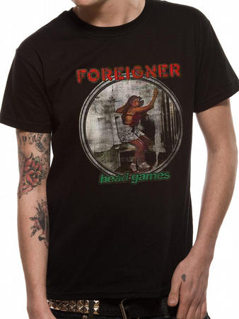 Foreigner (Head Games) T-shirt Preview