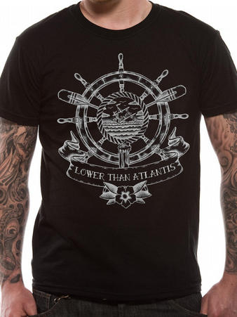 Lower Than Atlantis (Sinking Ship) T-shirt Preview