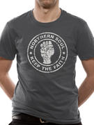 Northern Soul (Distressed Fist) T-shirt