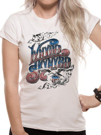 Lynyrd Skynyrd (USA Flag) Women's T-shirt Preview