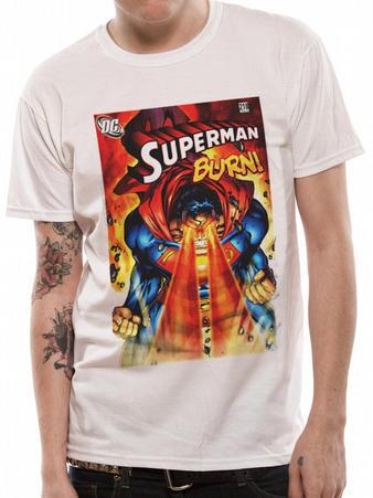 Superman (Burn) T-shirt Preview