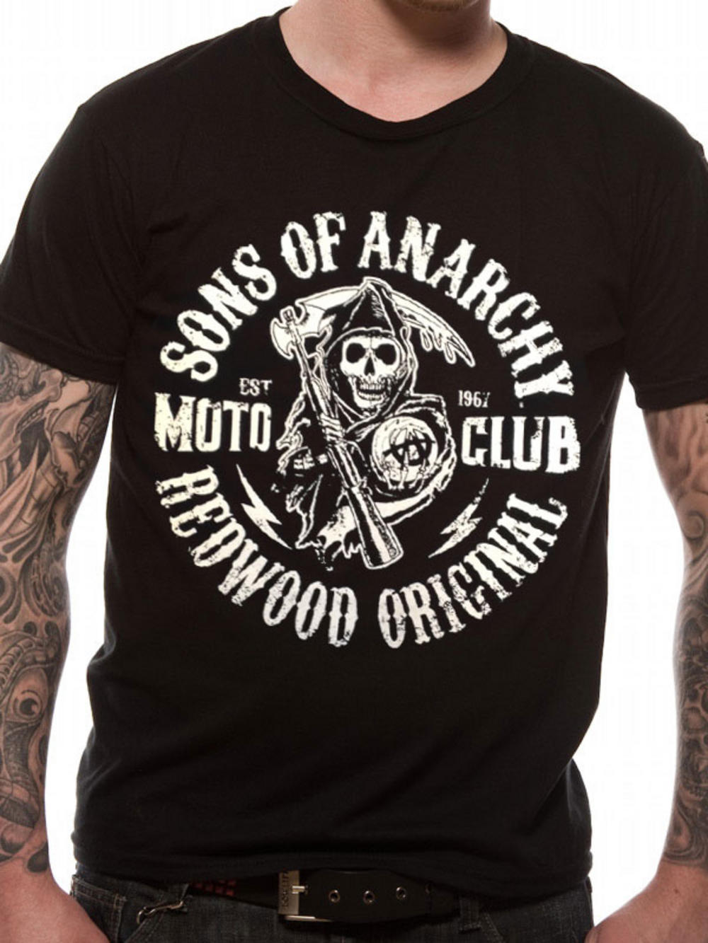 sons of anarchy moto reaper t shirt buy sons of anarchy. Black Bedroom Furniture Sets. Home Design Ideas