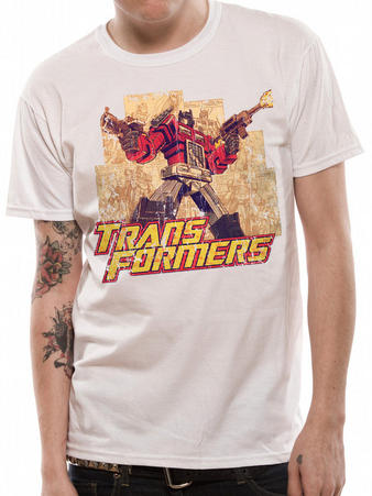 Transformers (Optimus) T-shirt Preview