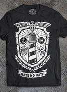 Hate No Hate (Lighthouse Shield) T-shirt