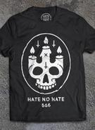 Hate No Hate (Skull Candle) T-shirt