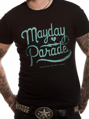 Mayday Parade (Script) T-shirt Preview