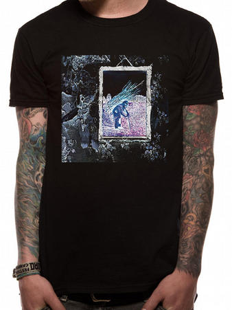 Led Zeppelin (IV Album) T-shirt Preview