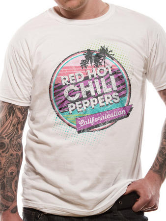 Red Hot Chili Peppers (Retro Californication) T-shirt Preview