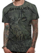 Metallica (Justice Neon All Over) T-shirt