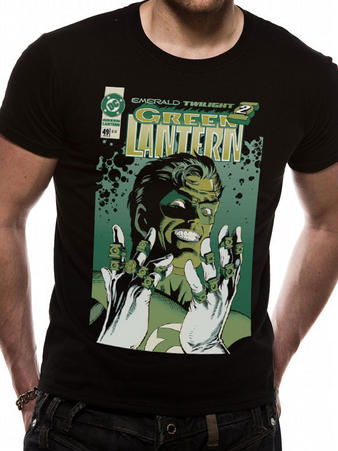 Green Lantern (Face) T-shirt Preview