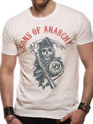 Sons Of Anarchy (Reaper Flag White) T-shirt