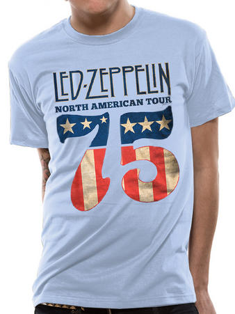Led Zeppelin (US 75) T-shirt Preview