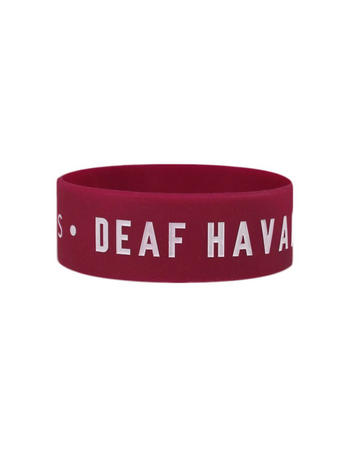 Deaf Havana (Logo) Wristband Preview
