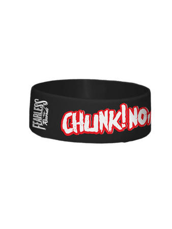 Chunk! No Captain Chunk (Logo) Wristband Preview