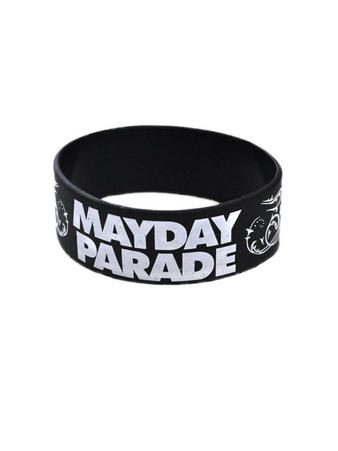 Mayday Parade (Logo) Wristband Preview