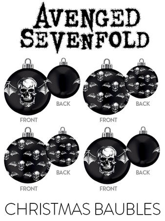 Avenged Sevenfold (Death Bat) Baubles Preview
