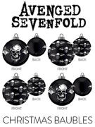 Avenged Sevenfold (Death Bat) Baubles Thumbnail 1