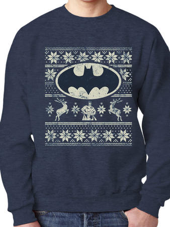 Batman (Fair Isle) Jumper Preview