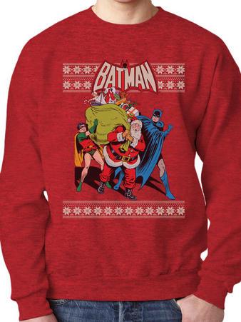 Batman (Robin & Santa) Jumper Preview