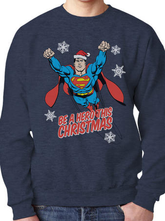 Superman (Christmas Hero) Jumper Preview
