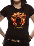 The Hunger Games (Katniss Mockingjay Skinny) T-shirt