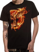 The Hunger Games (Mockingjay Pin Flame) T-shirt