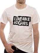 Loveable Rogues (Logo White) T-shirt
