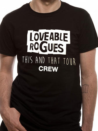 Loveable Rogues (LR Crew) T-shirt Preview