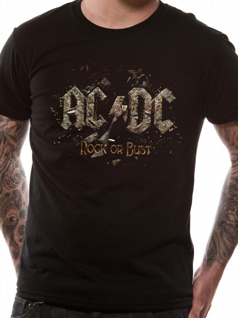 ac dc rock or bust t shirt tm shop. Black Bedroom Furniture Sets. Home Design Ideas