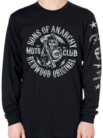 Sons Of Anarchy (Reaper Redwood) Long Sleeved T-shirt Preview