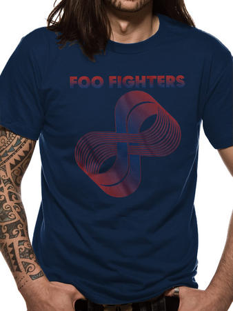 Foo Fighters (Sonic Highways Loops Logo) T-shirt Preview