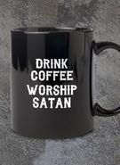 Hate No Hate (WORSHIP SATAN) Mug
