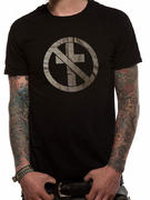 Bad Religion (Monochrom Cross Buster Black) T-shirt Thumbnail 1