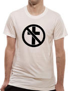 Bad Religion (Monochrom Cross Buster White) T-shirt Thumbnail 1