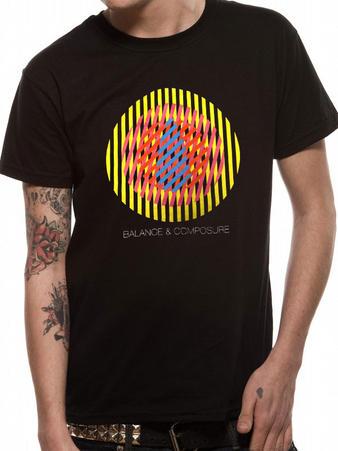 Balance & Composure (Color Circle) T-shirt Preview