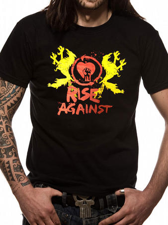 Rise Against (Fist Crest) T-shirt Preview