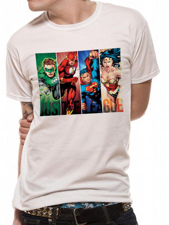 Justice League (Strips) T-shirt Preview