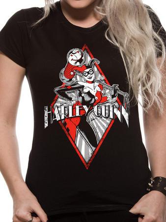 Harley Quinn (Diamond Logo) T-shirt Preview