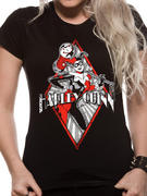 Harley Quinn (Diamond Logo) T-shirt