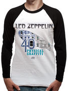 Led Zeppelin (Physical Graffiti 40th) Raglan Pre-order Released W/C 23rd March