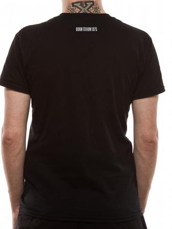 Bruce Springsteen (Tramps Like Us) Black T-shirt Thumbnail 2