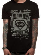 All Time Low (Dying To Live) T-shirt