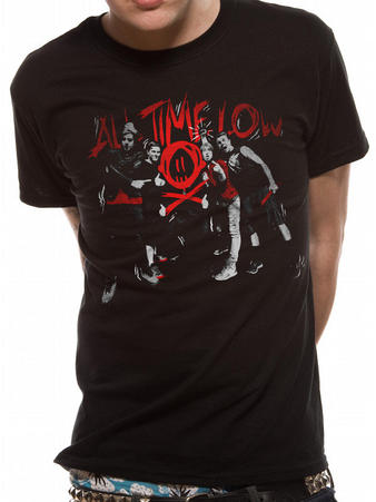 All Time Low (Red Photo) T-shirt Preview