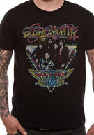 Aerosmith (Distressed World) T-shirt