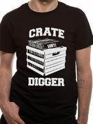 Crate Digger (Buy Vinyl) T-shirt Pre-order Released W/C 6th April