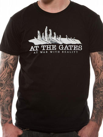 At The Gates (At War With Reality) T-Shirt Preview