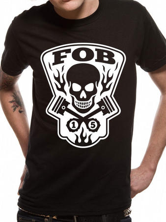 Fall Out Boy (Gear Head) T-shirt Preview