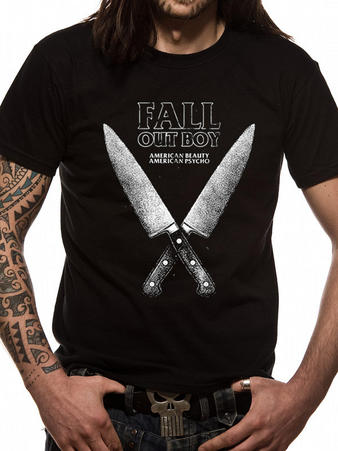 Fall Out Boy (Knives) T-shirt Preview