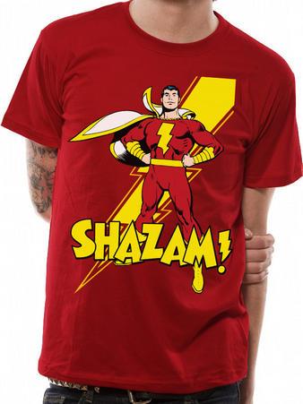 Shazam! (Pose) T-shirt Preview